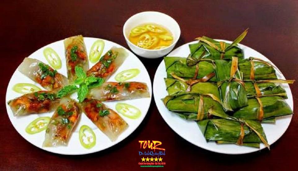 bánh lọc Quảng Bình, món ăn vặt rất ngon