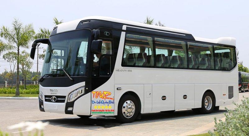 cho thuê xe 35 chổ ngồi du lịch Quảng Bình tại Đồng Hới Thaco