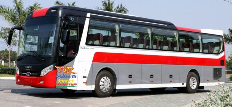 dịch vụ cho thuê xe 45 chổ ngồi tại Đồng Hới Quảng Bình Thaco