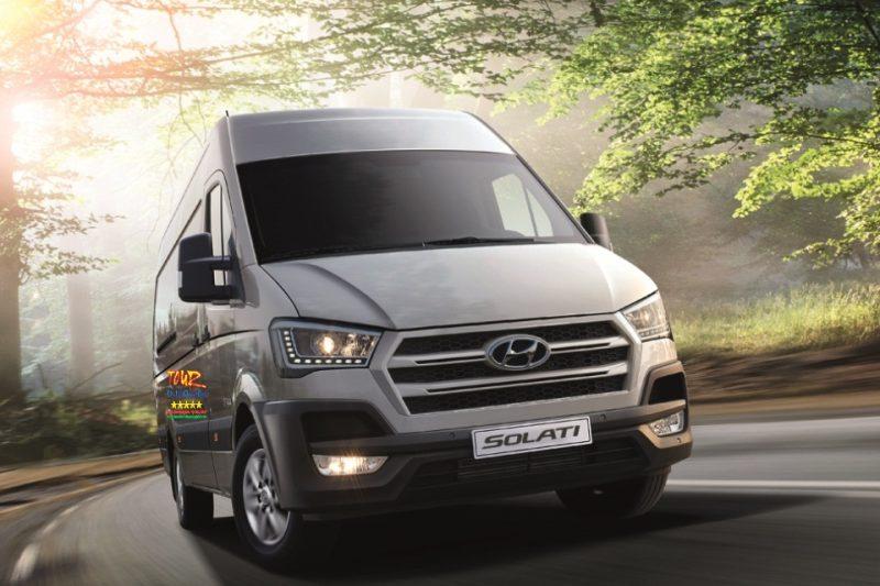 dịch vụ cho thuê xe du lịch tại Đồng Hới Quảng Bình 16 chổ Solati