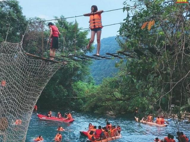 Phong Nha - Kẻ Bàng KDL suối Moọc Quảng Bình tour 3