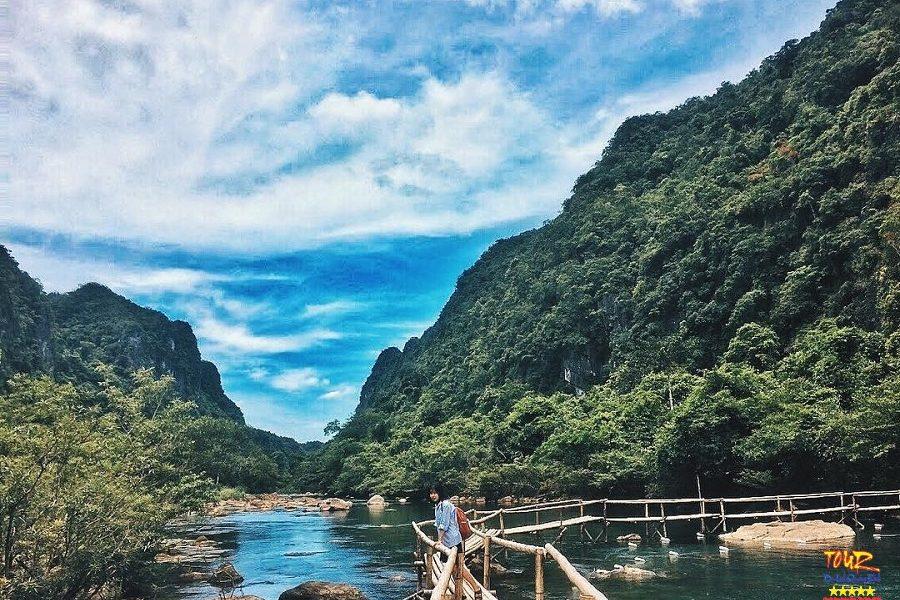 Tour du lịch Quảng Bình khu du lịch suối Moọc Phong Nha 1