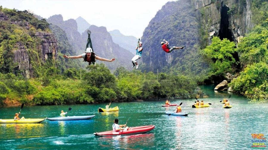 Tour Quảng Bình du lịch sông Chày - Hang Tối, Phong Nha - Kẻ Bàng 1