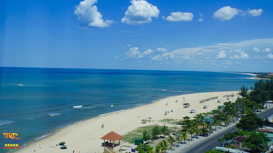 Bãi biển Nhật Lệ beach, bãi tắm trung tâm Đồng Hới, Quảng Bình 1