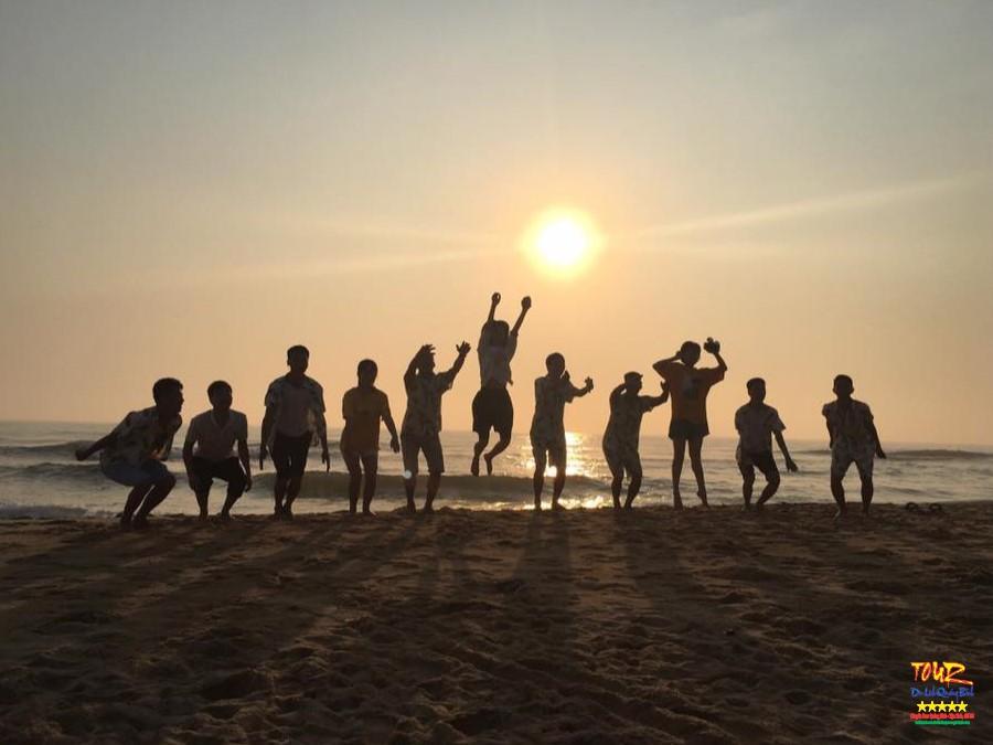 bãi biển Nhật Lệ thành phố Đồng Hới Quảng Bình 1