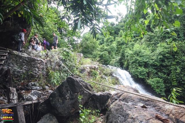 Du lịch Quảng Bình thác Gió, vườn thực vật Phong Nha 1